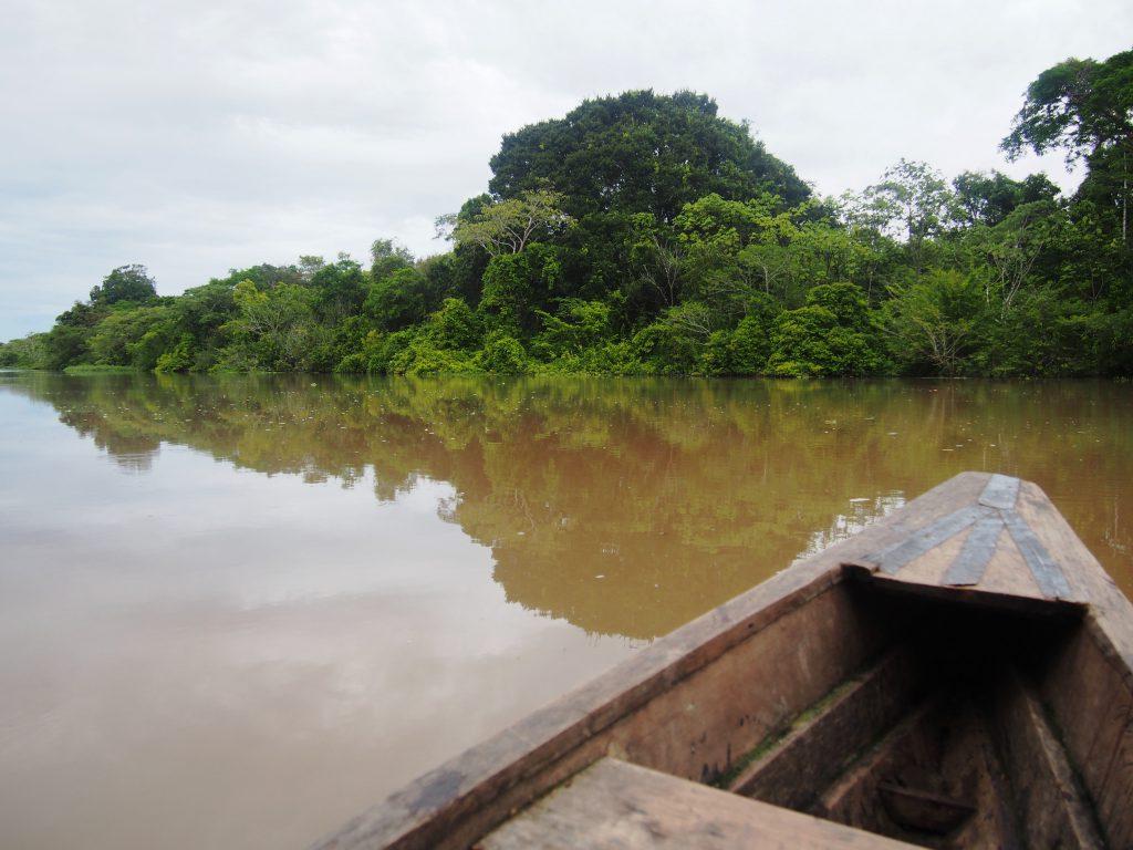 Peruwiańska część Amazonii