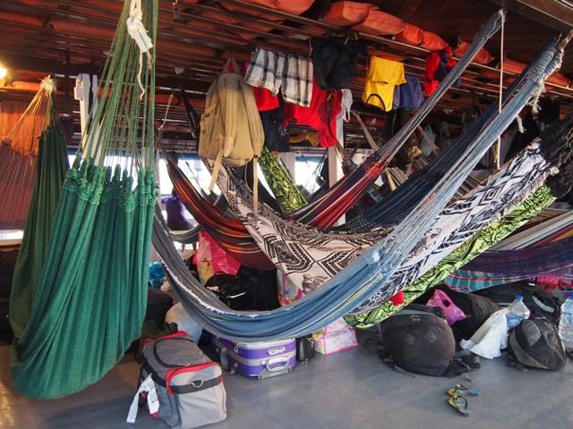 """Moja """"kajuta"""", rejs przez Amazonkę, Brazylia"""