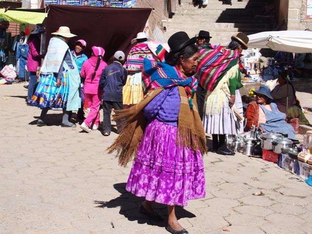 W drodze na Wyspę Słońca ( Isla del Sol), Boliwia