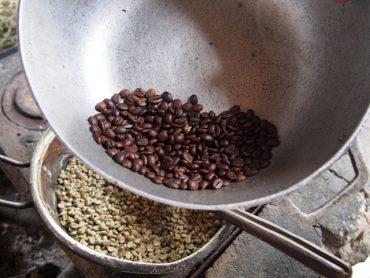 Prażenie kawy, Kolumbia, Salento