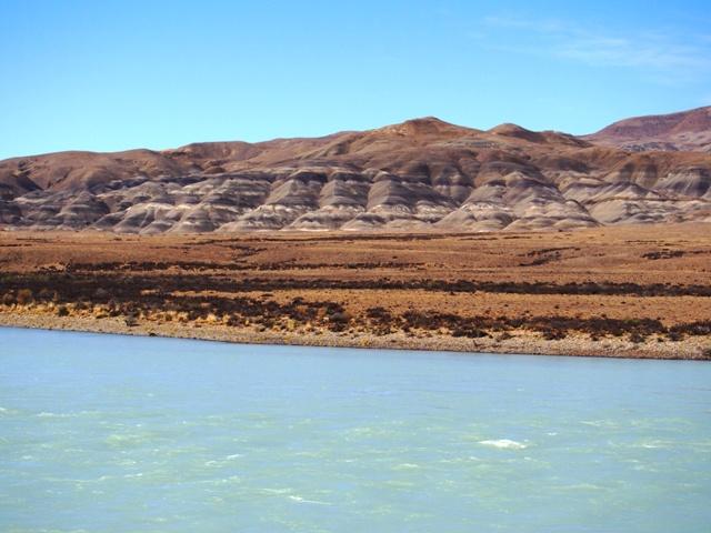 W dordze do El Chalten, Patagonia, Argentyna