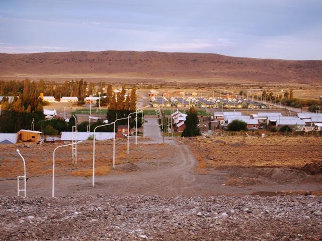 Jeden z nielicznych przystanków po drodze, Patagonia, Argentyna