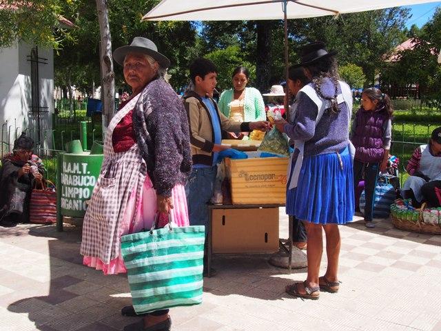 Targ w Tarabuco, Boliwia
