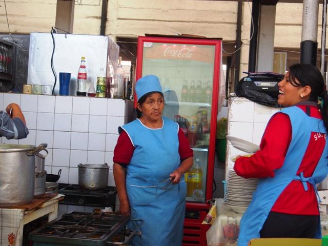 Targ w Sucre, Boliwia