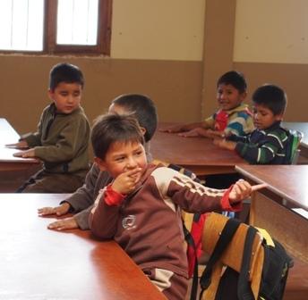 W przedszkolu, Boliwia, Sucre, przedszkole, dzieci, zabawa