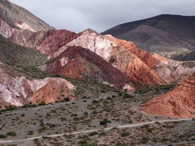 Purmamarca, Góry 7 kolorów, Argentyna