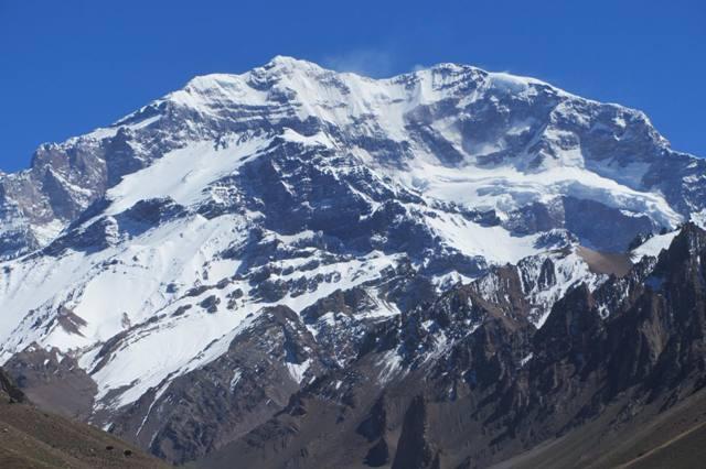 Góra Aconcagua, Argentyna