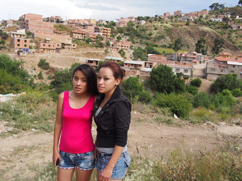 Kelly ze starszą siostrą Heydi