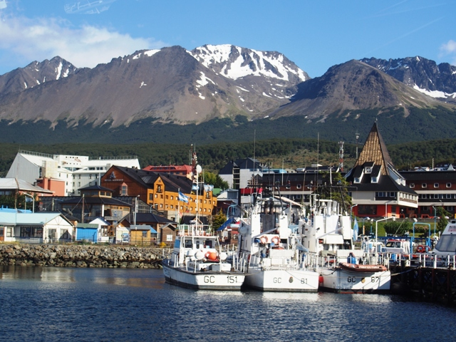 Ushuaia, ZIemia Ognista (Tierra del Fuego), Argentyna