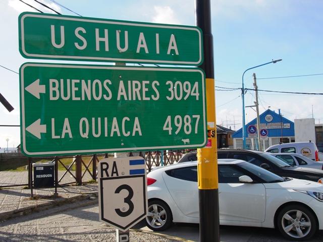 Ushuaia, ZIemia Ognista (Tierra del Fuego), na północ Argentyny pozostało mi jedyne 4987 km