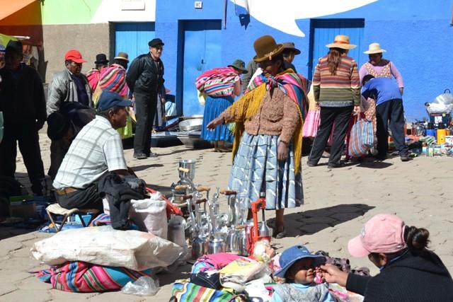 W drodze na Wyspę Słonca (Isla del Sol), Boliwia